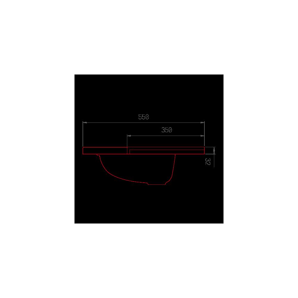 plan de toilette gavarnie double v3 en r sine de synth se. Black Bedroom Furniture Sets. Home Design Ideas