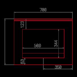 PLAN DE TOILETTE KAHIWA SIMPLE V3