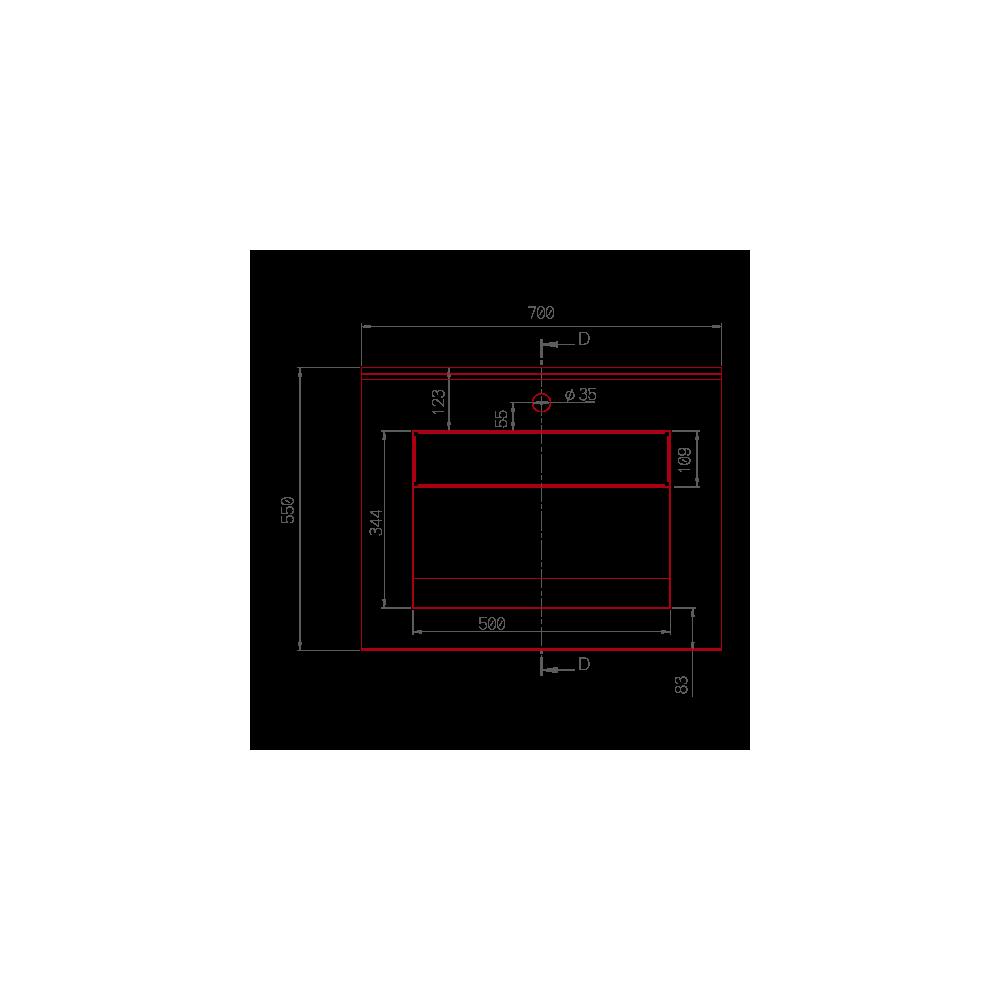 plan de toilette papala simple v1 en r sine de synth se. Black Bedroom Furniture Sets. Home Design Ideas